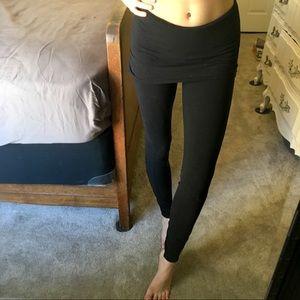 Lululemon yoga leggings with attached skirt!